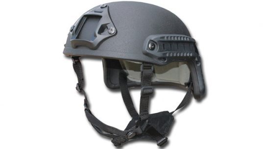 Scout IIIA Ballistic Helmet from Tacprogear Black