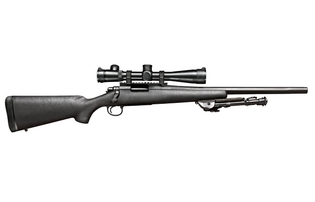 The excellent Remington 700P LTR provides sub-MOA precision for the BPD ERT snipers.