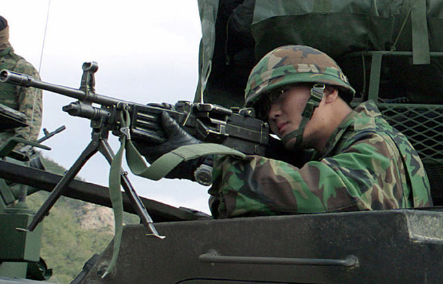 Daewoo K3 | 12 Rifles, Machine Guns, Shotguns, & Pistols Used by ROK Marines