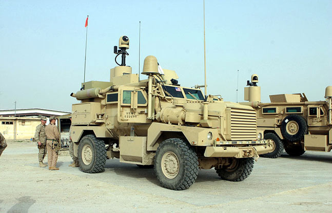 Cougar MRAP in service with US Military in Iraq