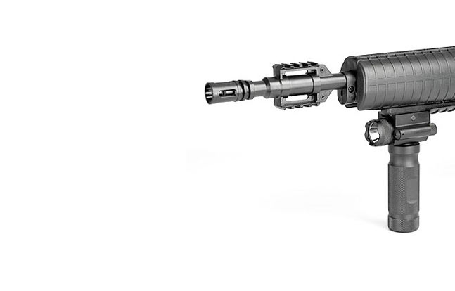 Hawke Laser/Light Foregrip| 20 New AK Accessories For 2014