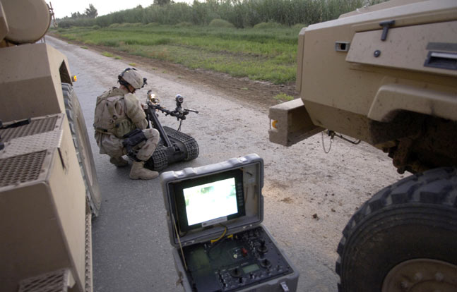 Improvised Electronics: Counter-IED Blast Simulator Training