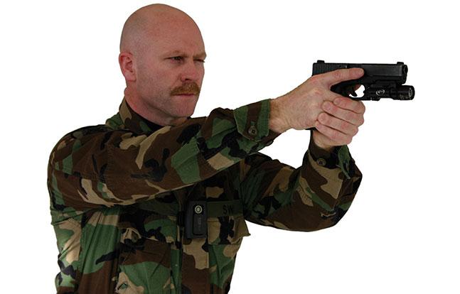 LE3 Fatigues Gun