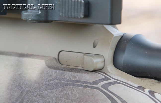 Proof Research Tac II 6.5 Creedmoor Rifle side bolt release