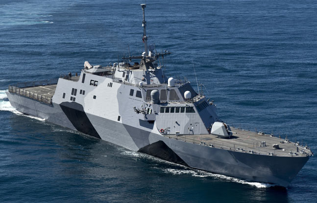 Coastal warships manufactured by Lockheed and Austal performed well during a major war game exercise conducted by the U.S. Navy, a Navy admiral revealed.
