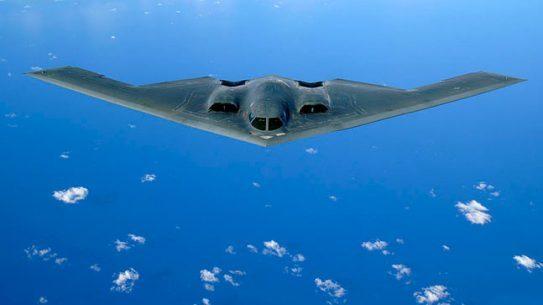 B-2 Spirit Stealth Bomber sky