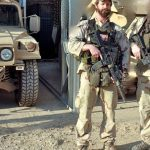 Tom Spooner in Iraq, 2005