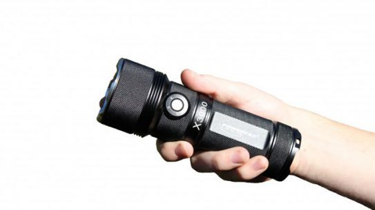 PowerTac X3000 3000 Lumen Rechargeable LED Flashlight