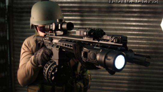 Primary Weapons Systems rifles, such as the MK212 shown with a new X Products drum mag, have been tested by officers and operators in the harshest conditions and have proven to be some of the most reliable AR rifles you can get today. Notable PDs fielding PWS rifles include Walla Walla, WA, Gwinnett County, GA and the City of Baton Rouge, LA.