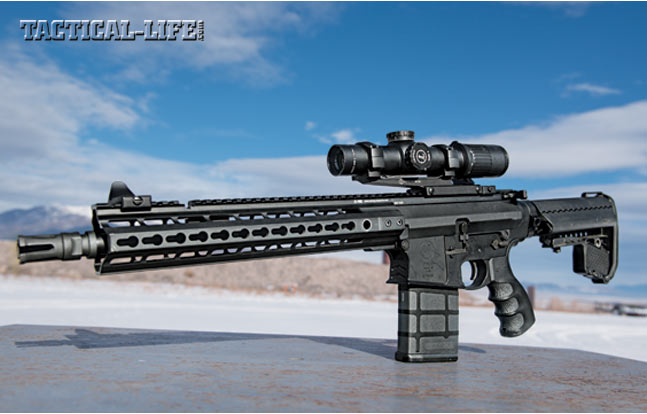 The new MK212 is lighter and features an adjustable gas system that allows operators to tune the rifle for their ammo or environment.
