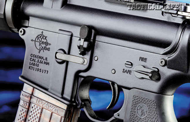 Rock River Arms equips the Operator III carbine with its left-side-mounted Star safety selector as well as a crisp two-stage trigger.