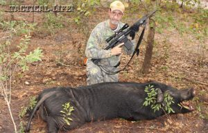 Ruger SR-762 .308 Win/7.62mm NATO Rifle: Hog Hunting