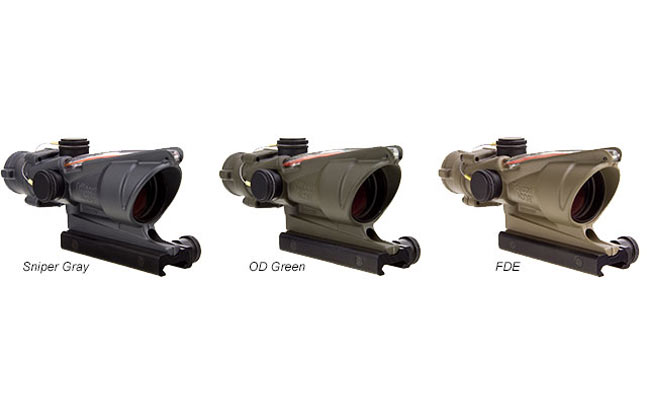 Trijicon Cerakote ACOG | 25 New Reflex Sights For 2014