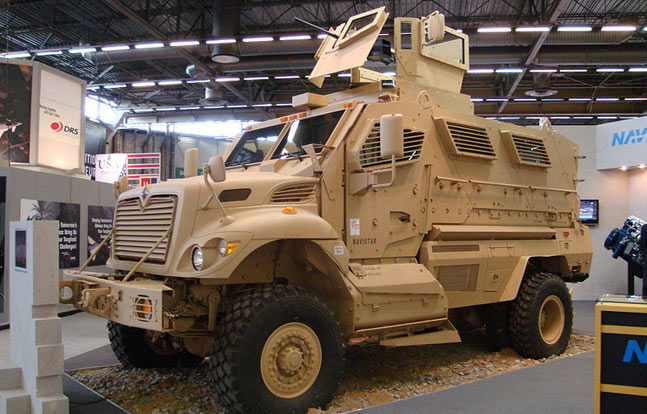 International MaxxPro Category 1 MRAP