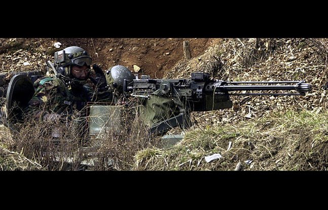 Daewoo K6 | 12 Rifles, Machine Guns, Shotguns, & Pistols Used by ROK Marines