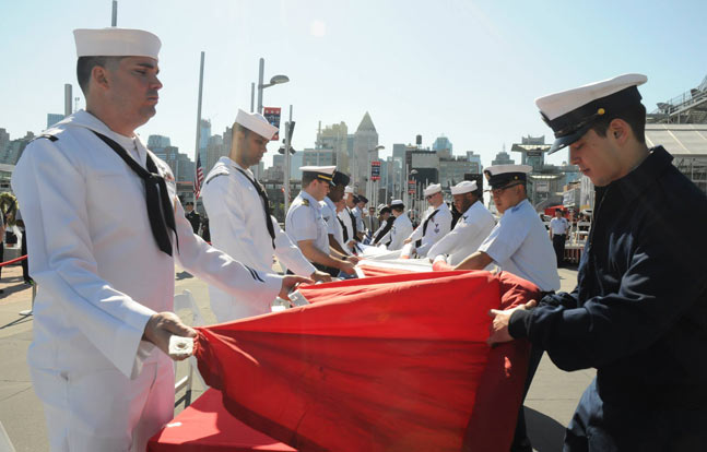 Three U.S. Navy ships and two U.S. Coast Guard cutters will take part in Fleet Week New York, now in its 26th year.