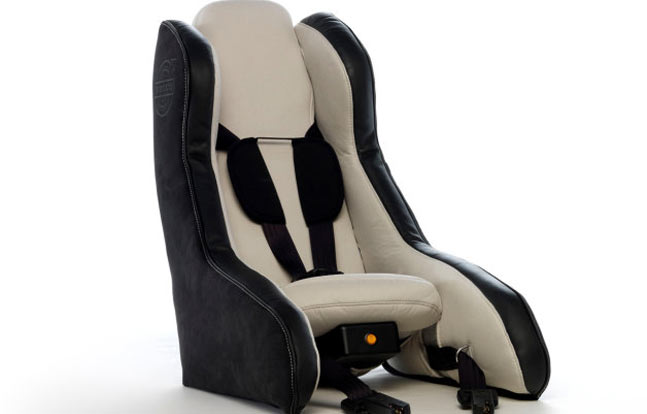 Volvo Inflatable Child Car Seat Concept