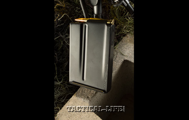 The AM40A6 utilizes the excellent five- and 10-round magazines for which Accurate- Mag has become famous.