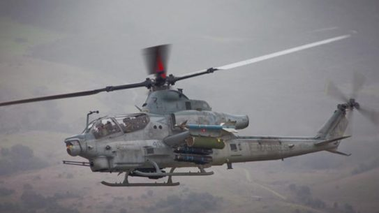 AH-1Z attack helicopter