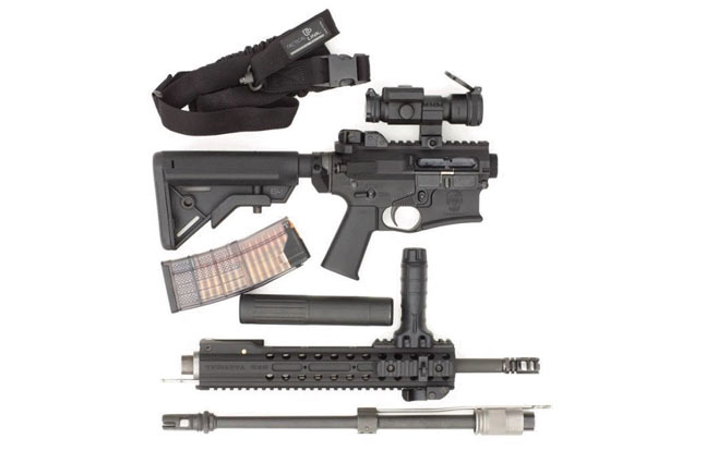 DRD Tactical CDR-15 apart