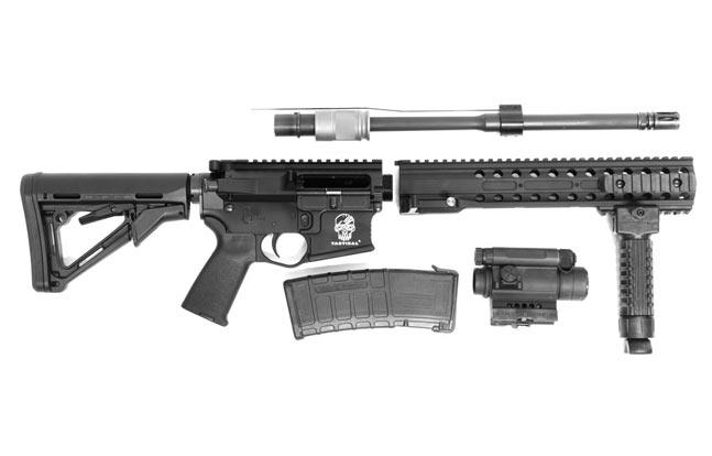 DRD Tactical CDR-15 broken
