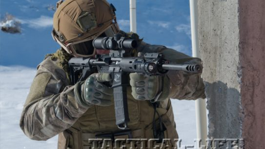 Colt CRB-16RR 300 Blackout | David Bahde running CRB-16RR through its paces from various positions.