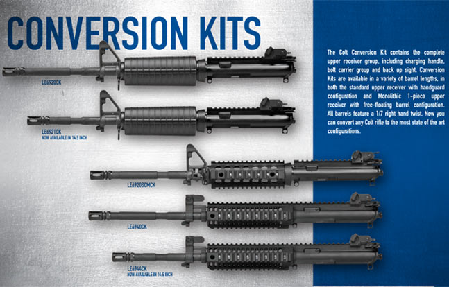 Colt Upper Receiver Assembly Kits
