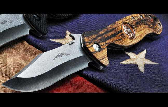 Emerson Patriot Wood Handle