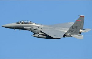 The US Air Force is sending four F-15E fighters and one KC-135 Stratotanker to Norway for a military exercise