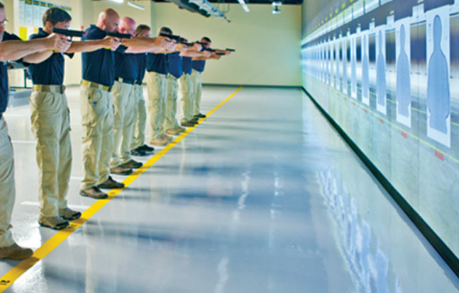 Federal Law Enforcement Training Centers - Virtual Firearms Training Range
