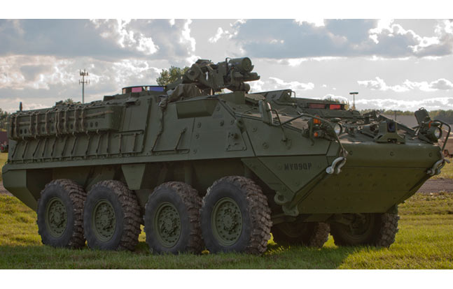 Defense contractor General Dynamics has received a $163 million contract from the U.S. Army for the Stryker Double-V Hull vehicle.