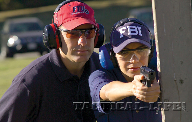FBI Academy in Quantico, VA | Agents and cadets taught how to master their .40 GLOCK pistols.