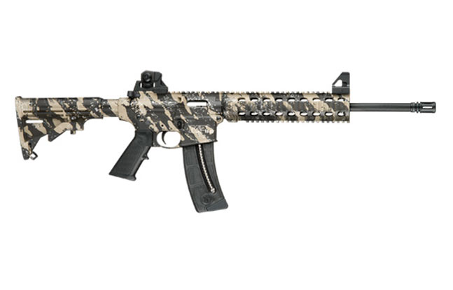 Smitth & Wesson M&P15-22 - Tan & Black