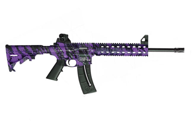 Smitth & Wesson M&P15-22 - Purple Platinum