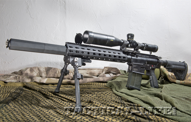 Heckler & Koch MR762A1 7.62mm Precision Rifle
