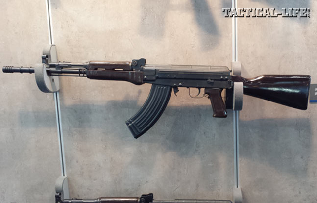 This is the AK-style Norinco NR81, the commercial version of the Chinese military Type 81 rifle. Neither version is typically found in the Americas.