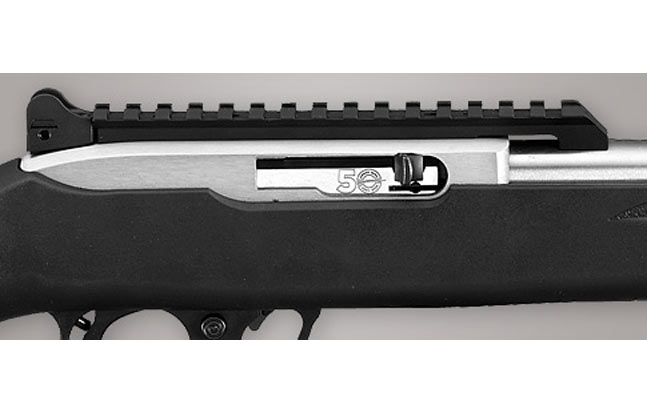 Ruger 10/22 50th Anniversary Rifle - action