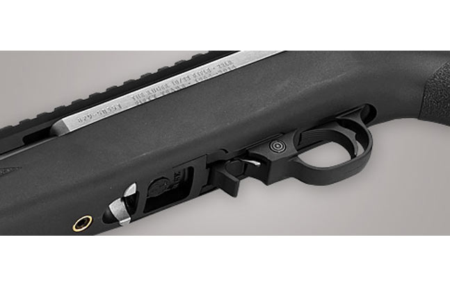 Ruger 10/22 50th Anniversary Rifle - extended magazine release