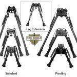 Tac Shield Heavy Duty Tactical Bi-Pods