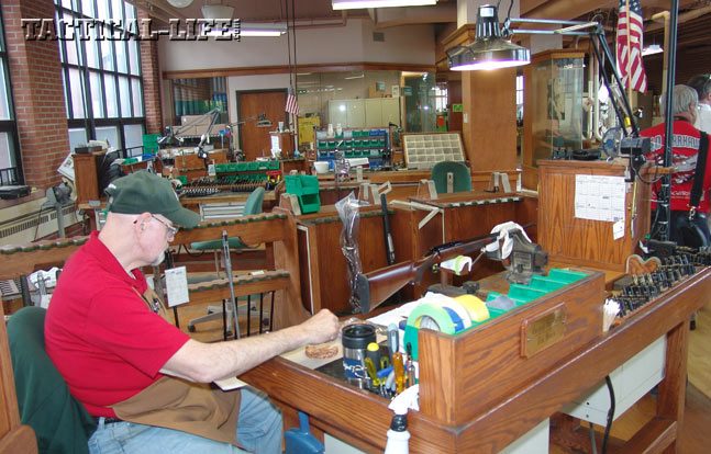 The Remington Custom Shop uses decades of experience to expertly customize Remington firearms with accurizing, engraving and hand checkering.