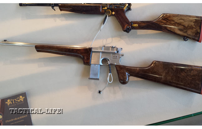 Luger P08 and Mauser C96 Carbines by Thomas Spohr