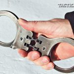 The author's original set of Peerless hinged handcuffs have seen 33 plus years of continuous duty without faltering.
