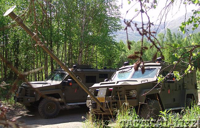 Alaska State Troopers Lenco ram