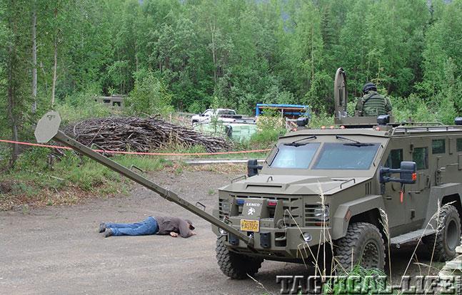 Alaska State Troopers Lenco suspect