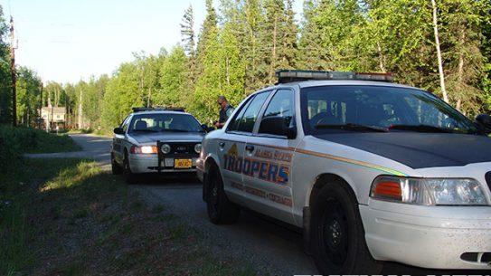 Alaska State Troopers cars