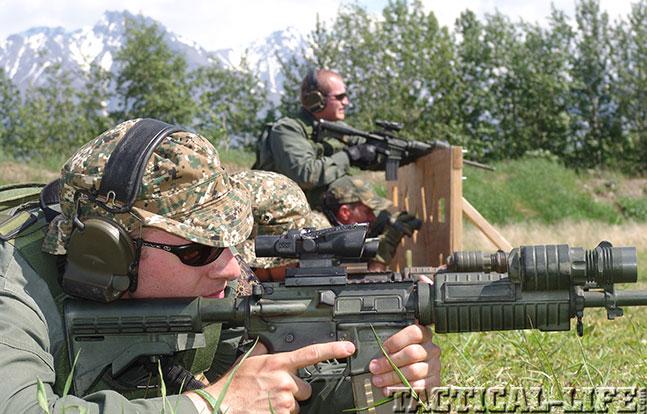 Alaska State Troopers rifle