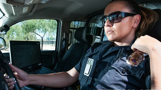 Body-worn cameras cop car body camera