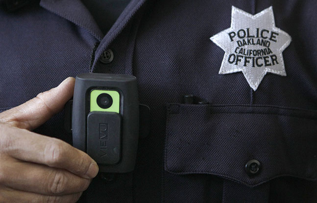 Body-worn cameras Oakland PD