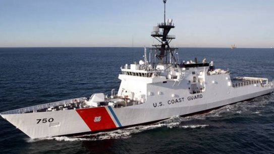 Lockheed will install its C4ISR System on the seventh U.S. Coast Guard National Security Cutter