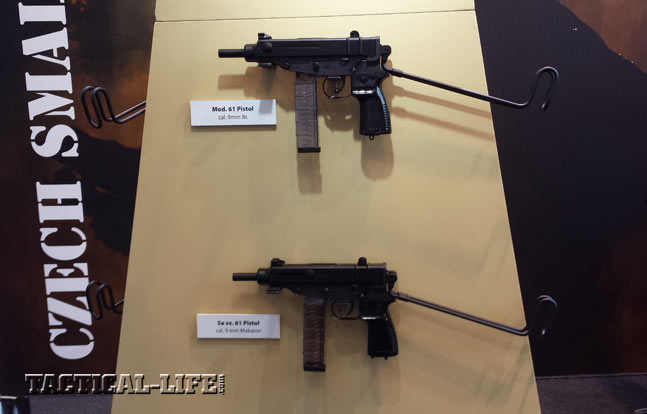 Czech Small Arms - Skorpion machine pistol